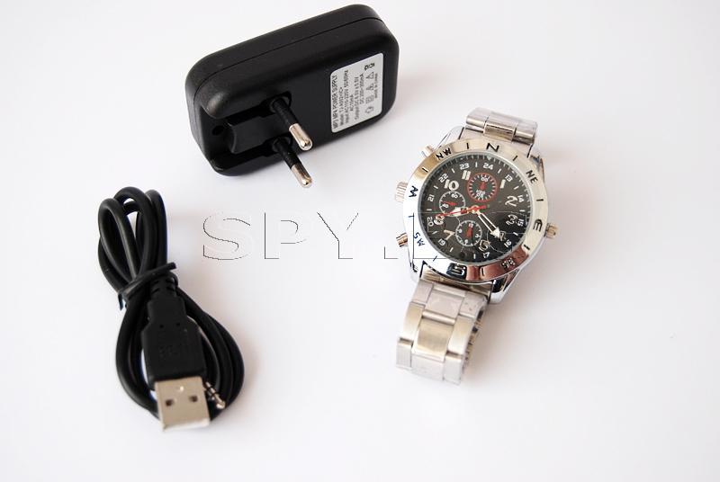 Камера, скрита в ръчен часовник