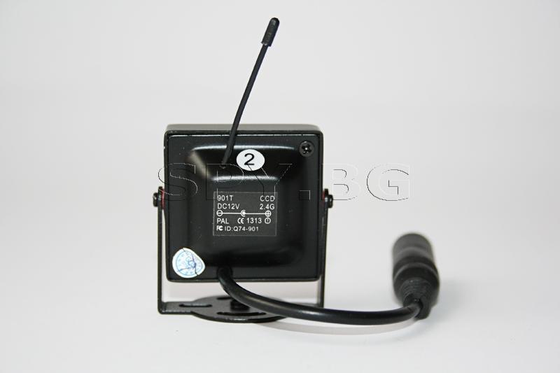 Комплект безжична камера 2.4 GHz и приемник