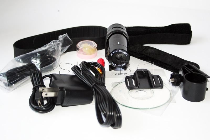 Водоустойчива спортна видео камера