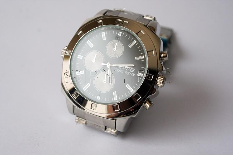 Скрита камера в елегантен ръчен часовник 4GB