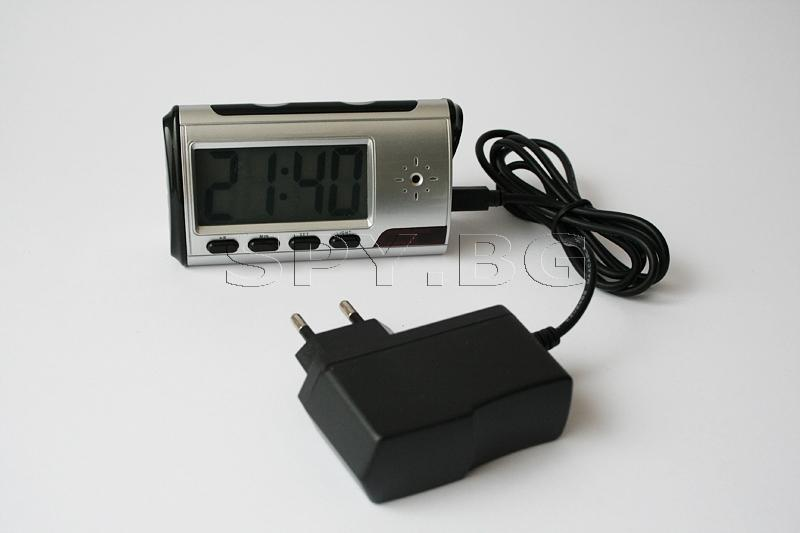 Motion Detection Clock Camera DVR - 4GB