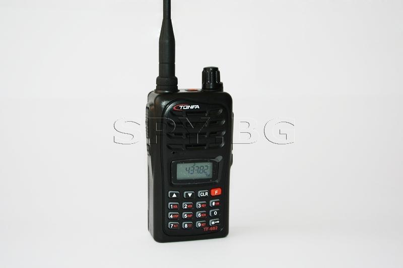UHF Аудио подслушвател с приемник