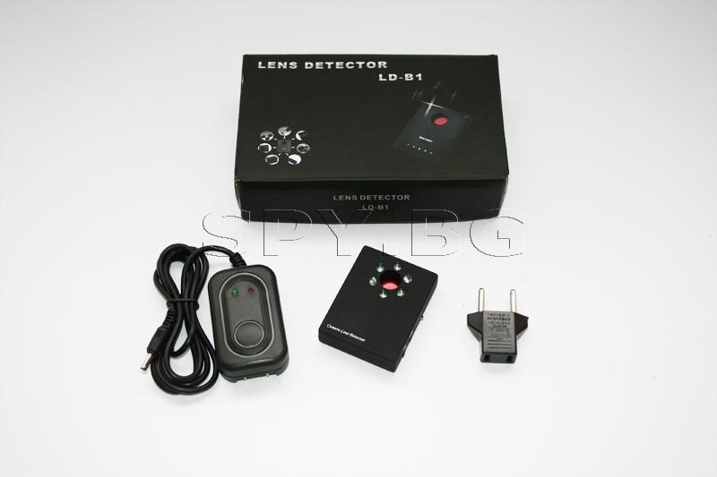 Детектор на лещи на скрити камери