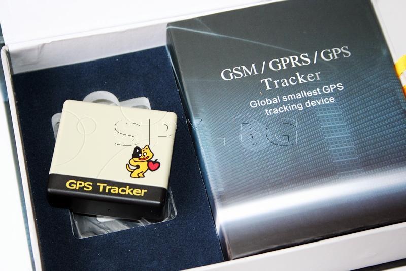 Компактен GPS тракер