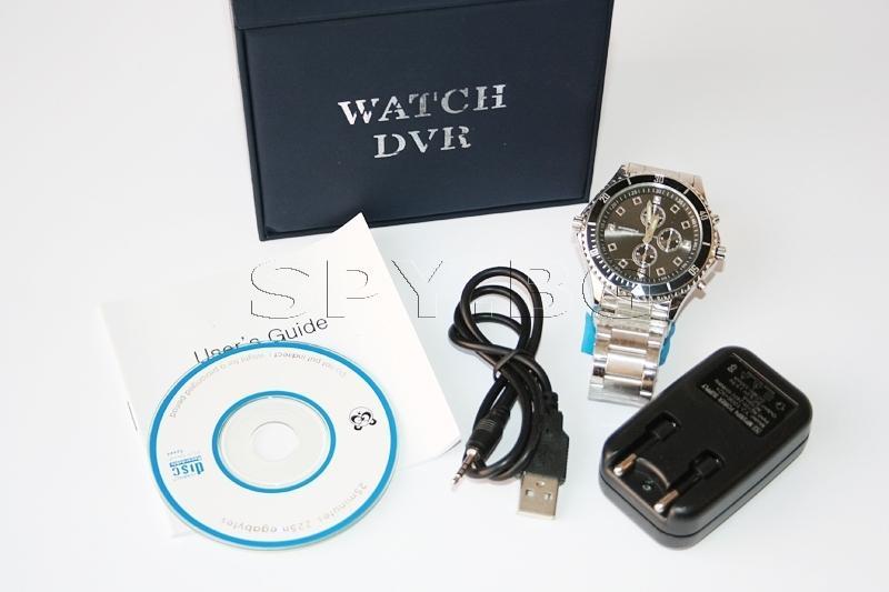 Камера с детектор за движение, скрита в ръчен часовник - 4GB