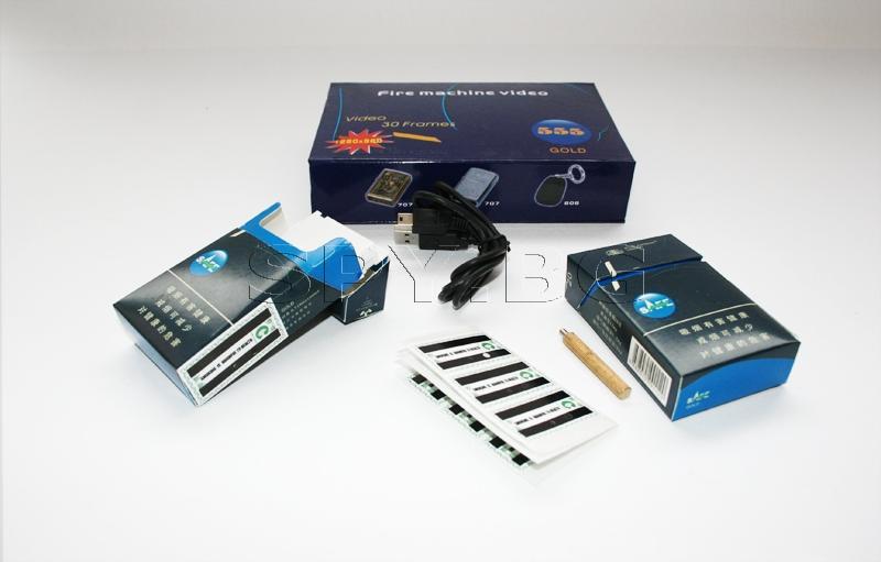 Шпионска камера в кутия от цигари