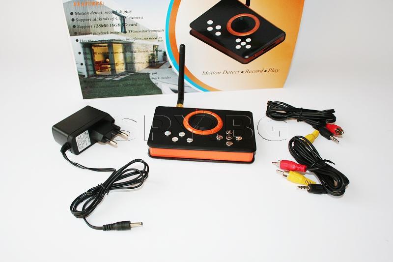 Комплект безжична камера и дигитален видео рекордер