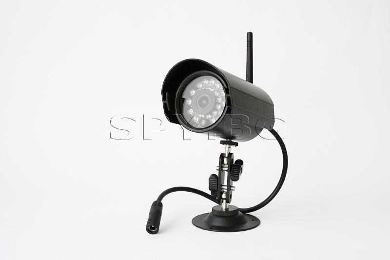 Безжична камера 2.4 GHz за външен монтаж