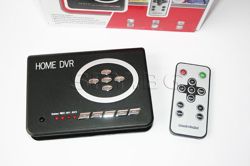 Рекордер за камери, предаващи по кабел, с дистанционно управление