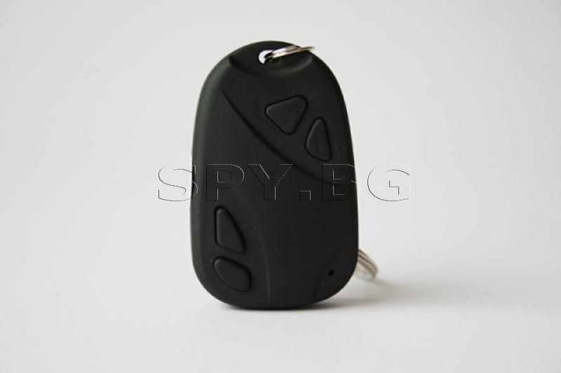 Скрита камера в дистанционно за аларма на кола-4GB памет