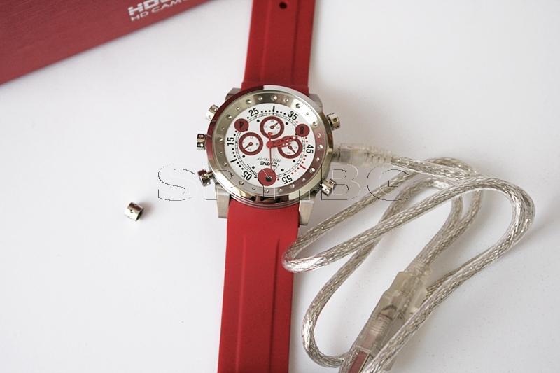 Водоустойчив часовник с MP3 плеър