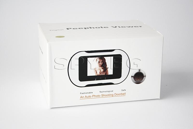 Електронна шпионка камера с LCD Дисплей 2.5