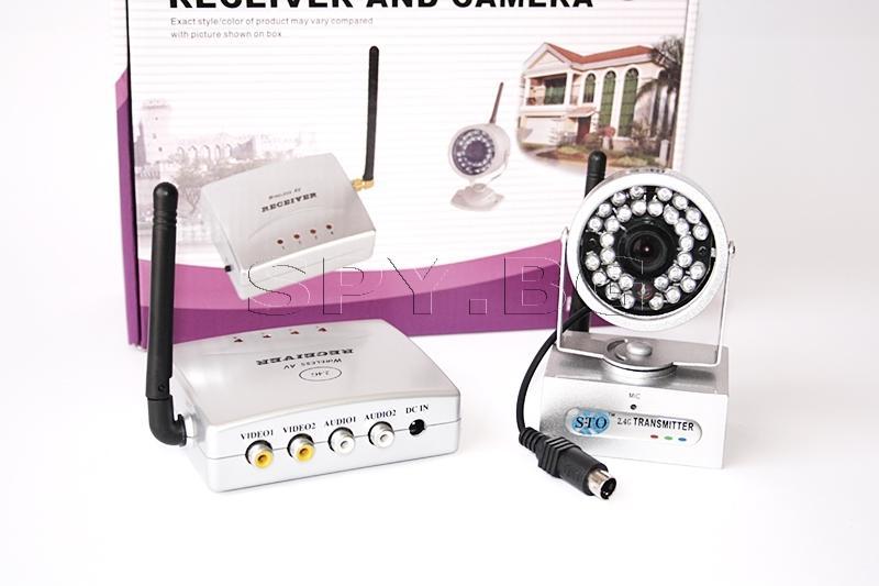 Камера с мощен предавател и приемник на 2.4 GHz