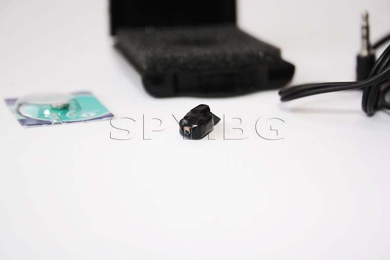 Микрослушалка черна с примка