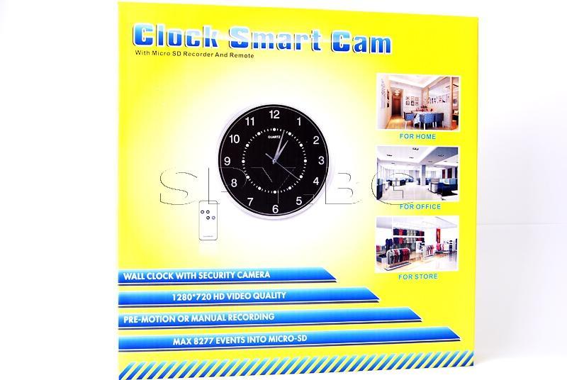 Скрита камера в стенен часовник и дистанционно