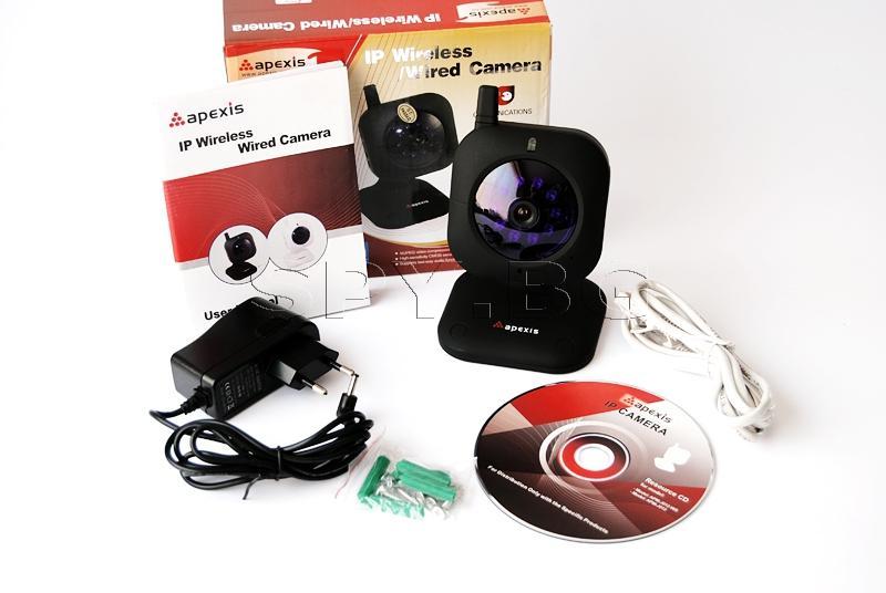 Безжична IP камера