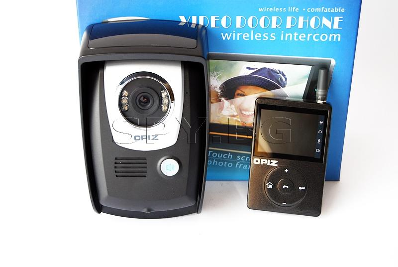 Видеодомофон безжичен