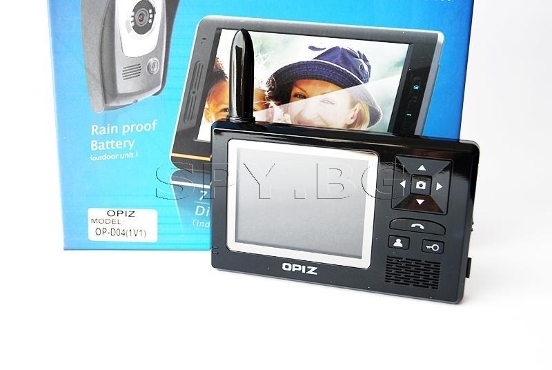 Видеодомофон за апартамент - безжичен