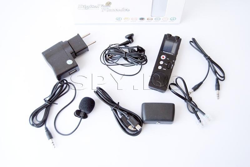 Аудиорекордер с bluetooth и редукция на шума - 10часа