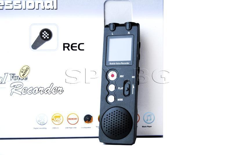 Аудиорекордер с bluetooth и редукция на шума