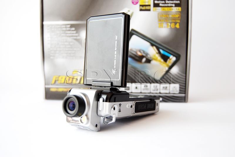 Видеорегистратор FullHD с 2.5 инчов дисплей