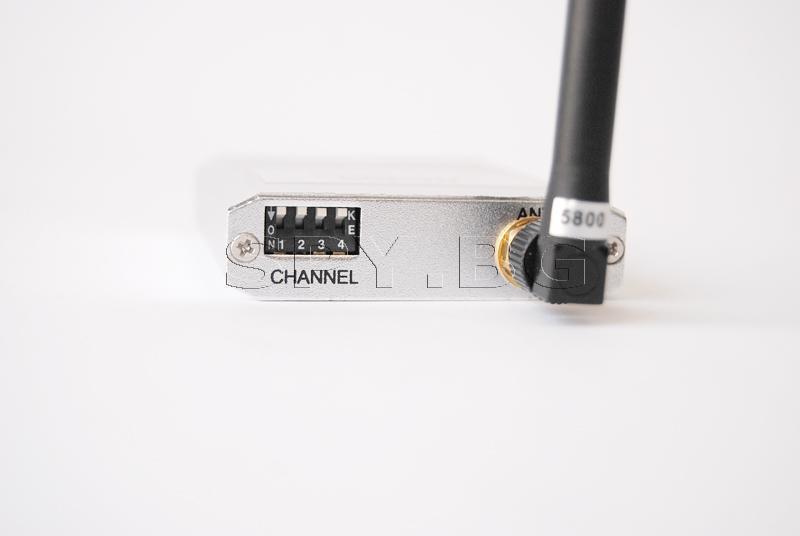 Комплект предавател и приемник на 5.8 GHz