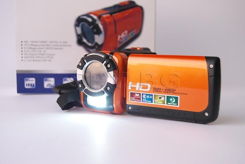HD камера за подводни снимки