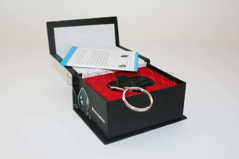 Скрита камера в ключодържател за кола - 4GB
