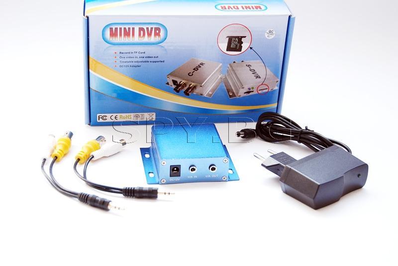 Мини рекордер за жични камери