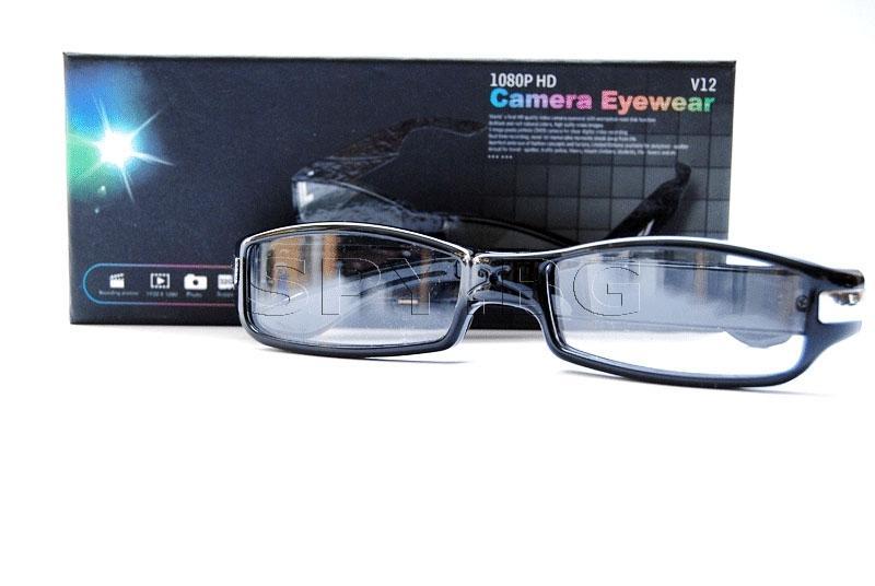 HD камера, скрита в очила с детектор на движение