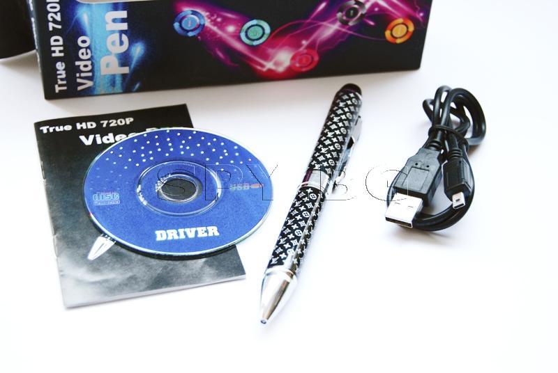 Химикалка с HD скрита камера