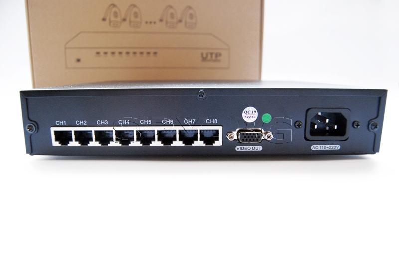 UTP приемник - 8 канала