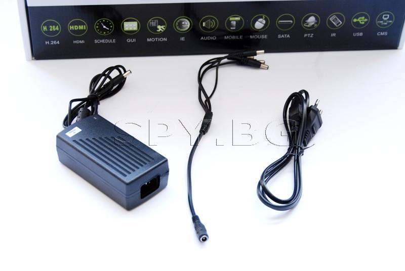 Система за видеоконтрол - 4 камери