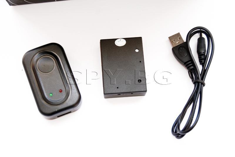 GSM подслушвателен модул с шоков и гласов датчик