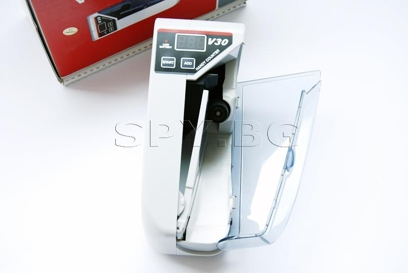 Портативна банкнотоброячна машина