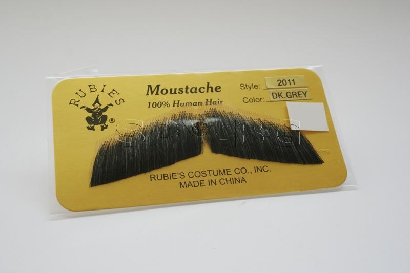 Джентълменски мустаци (тъмно сиви)