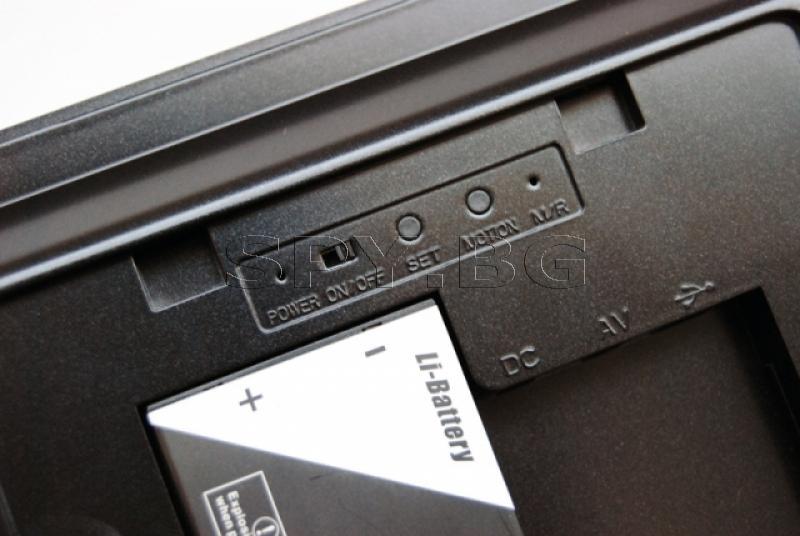 Камера, скрита в рамка на снимка