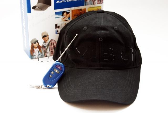 Скрита камера в шапка с дистанционно