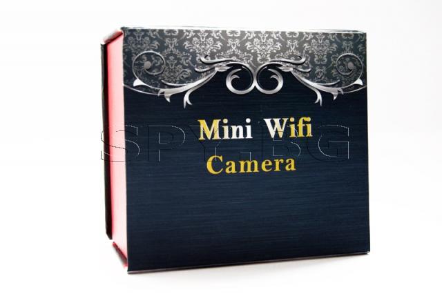 Шпионска HD Wi-Fi камера в димен датчик