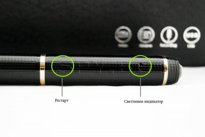 Химикалка със скрита камера