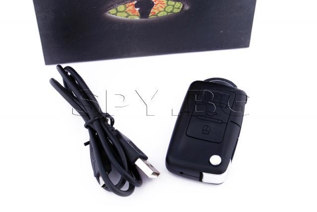 Камера в ключ с 8GB карта