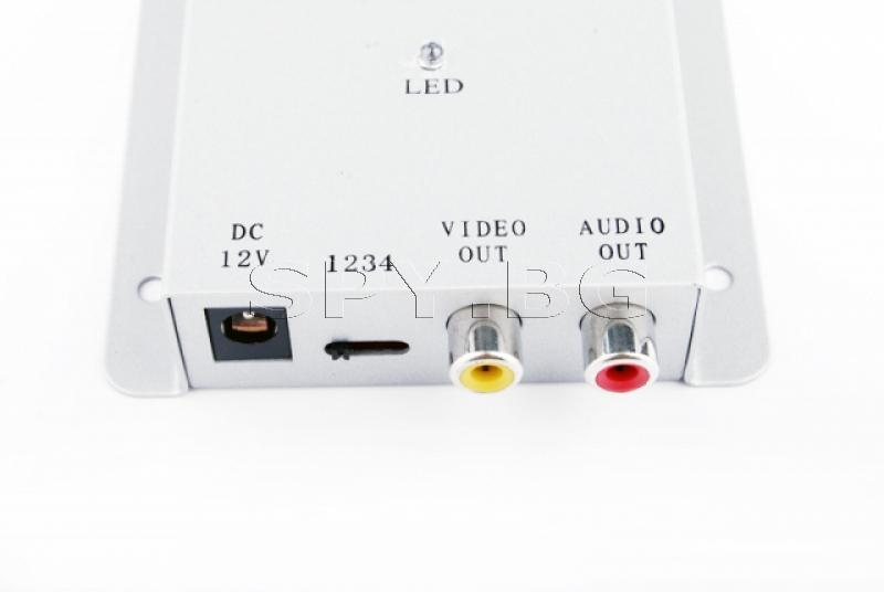 Комплект безжична  камера в ел. лампа и приемник