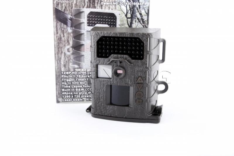 Ловна камера 12 МР с PIR датчик