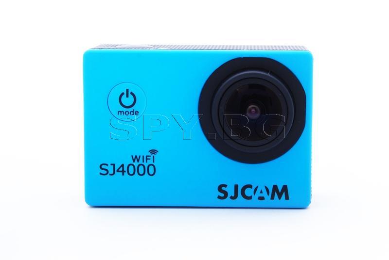 Спортна камера SJCAM SJ4000 WIFI - Синя