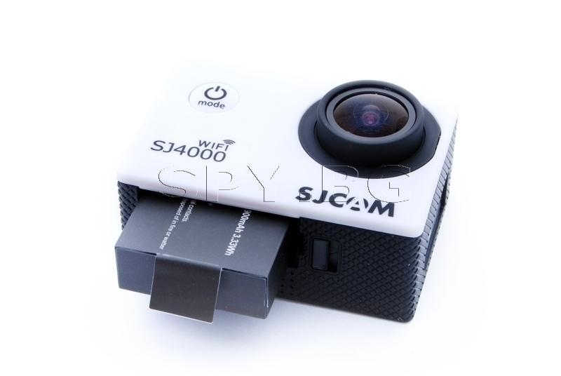 Спортна камера SJCAM SJ4000 WIFI - Бяла