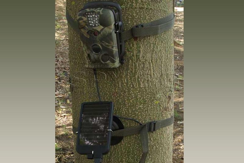 Батерия със соларен панел за ловна камера HD49