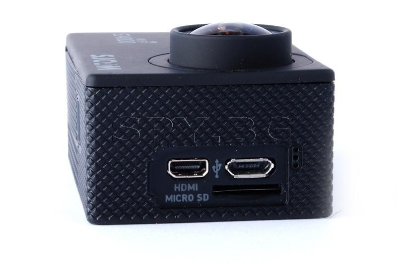 Спортна камера SJCAM SJ4000 WIFI с 2 батерии - Черна