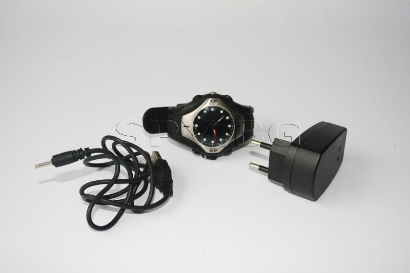 Безжична камера скрита в часовник. - (690)