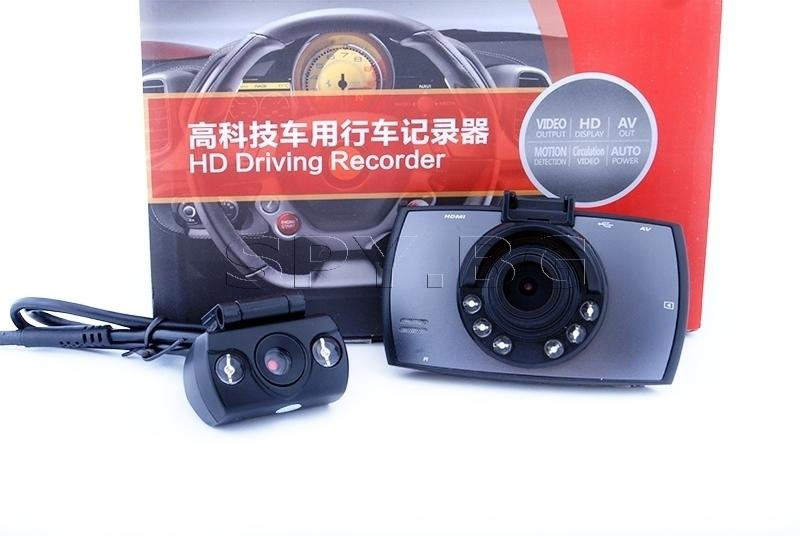 Видеорегистратор fullHD с две камери