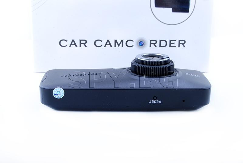 Широкоъгълен видеорегистратор с две камери